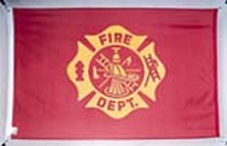 3'x5' Nylon Fire Department Flag