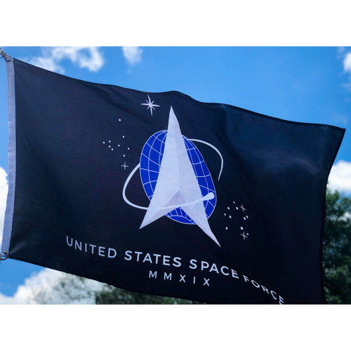 SPACE FORCE NYLON FLAG Made In USA