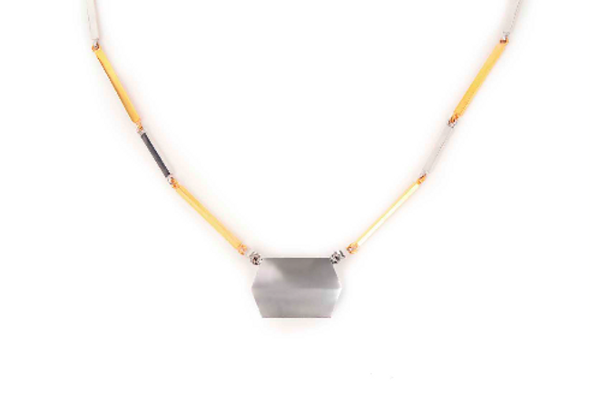 Movement Rack Panel Necklace