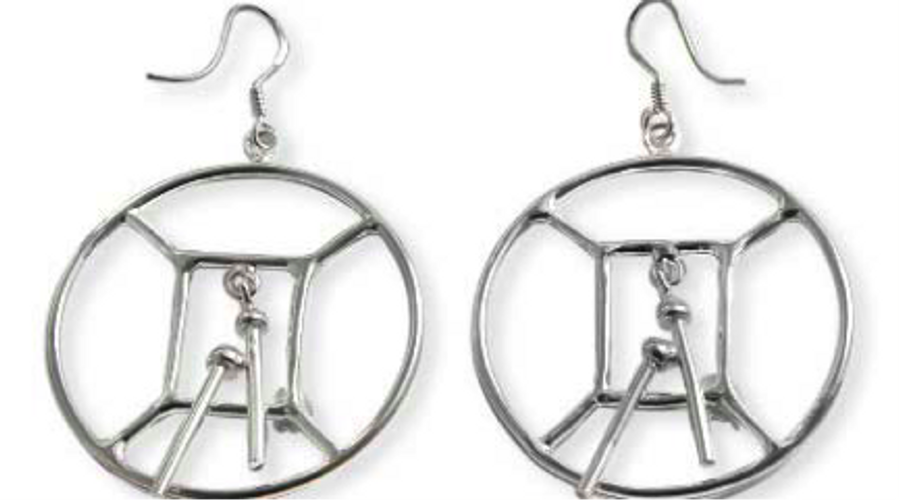 Classic Tenor Bass Hoop Earrings