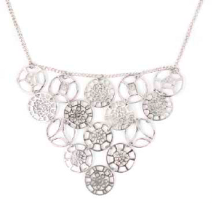 Classic Hoop Bib Necklace