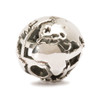 Trollbeads Silver Charm Big World