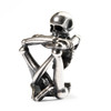 Trollbeads Silver Charms Skeleton Spirit