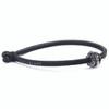 Trollbeads Single Leather Bracelet, Black | With Shanghai Dragon | TrollbeadsAkron.com
