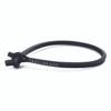 Trollbeads Single Leather Bracelet, Black | TrollbeadsAkron.com