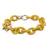 X Jewelry Bracelet Featuring Mellow Yellow Links