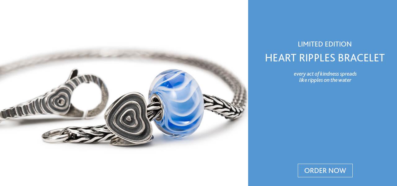 Trollbeads Heart Ripple Bracelet