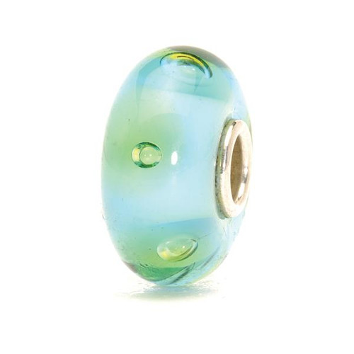 Trollbeads Glass Bead Turquoise Bubbles