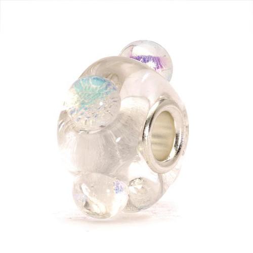 Trollbeads Glass Bead Dichroic Ice