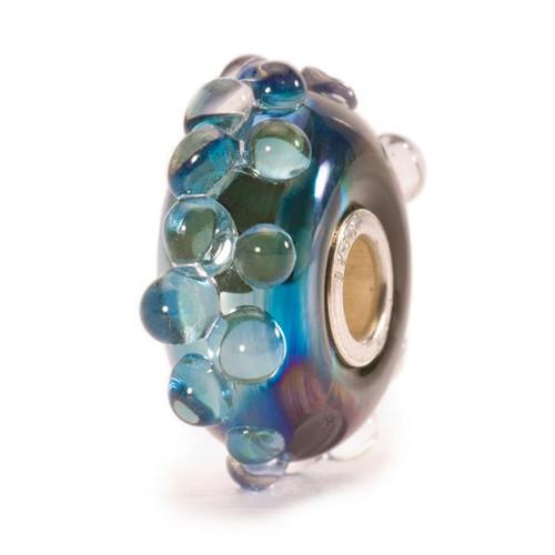 Trollbeads Glass Moon Ocean Bead