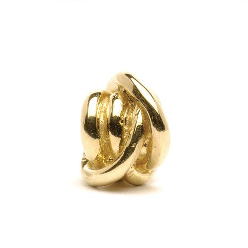 Trollbeads Gold Charm Lucky Knot