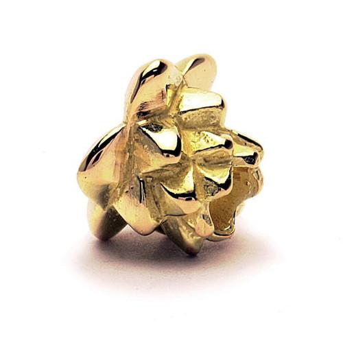 Trollbeads Gold Charm Lotus