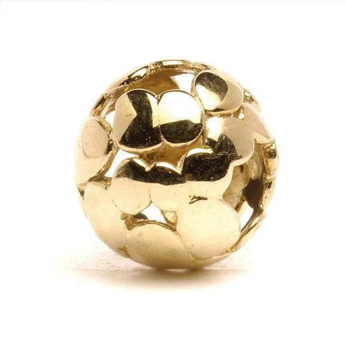 Trollbeads Gold Charm Spot