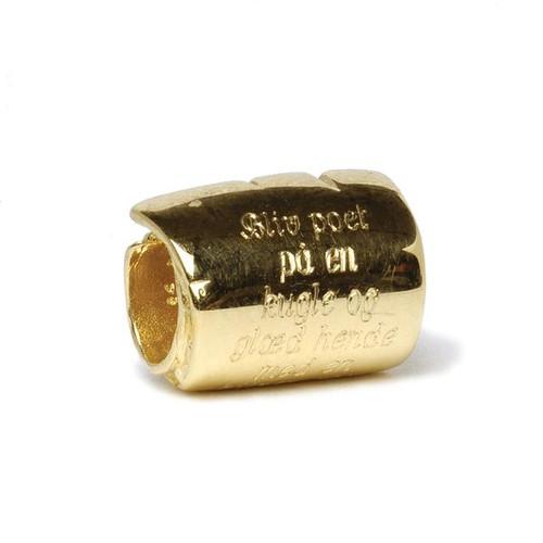 Trollbeads Gold Charm Scroll Small Gold