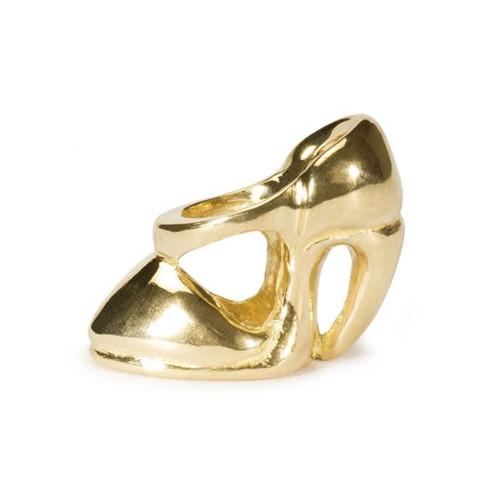 Trollbeads Gold Charm High Heel