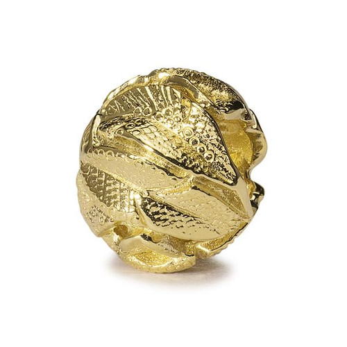 Trollbeads Gold Charm Angel's Feather's