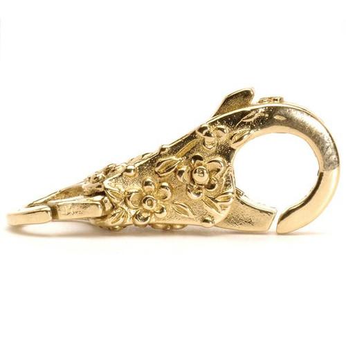 Trollbeads Lace Lock, Gold