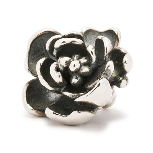 Trollbeads Silver Charm Rose Pendant