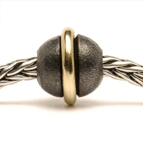 Trollbeads Silver and Gold Around the World on Troll Bracelet