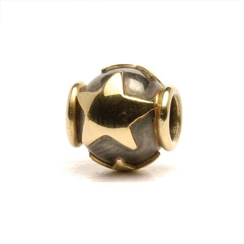 Trollbeads Silver and Gold Charms Stars