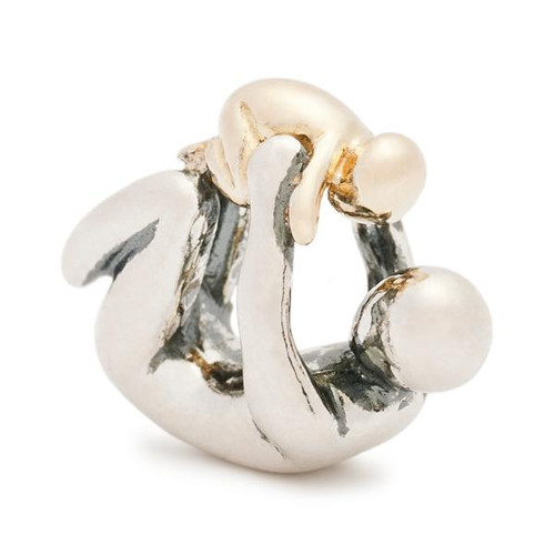 Trollbeads Paternity, Silver and Gold