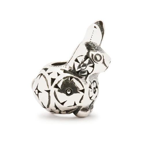 Trollbeads Decorative Baby Rabbit Silver Bead