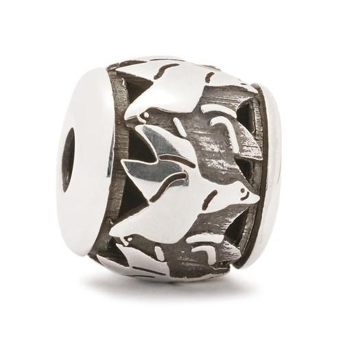 Trollbeads Silver Charm Flying Geese