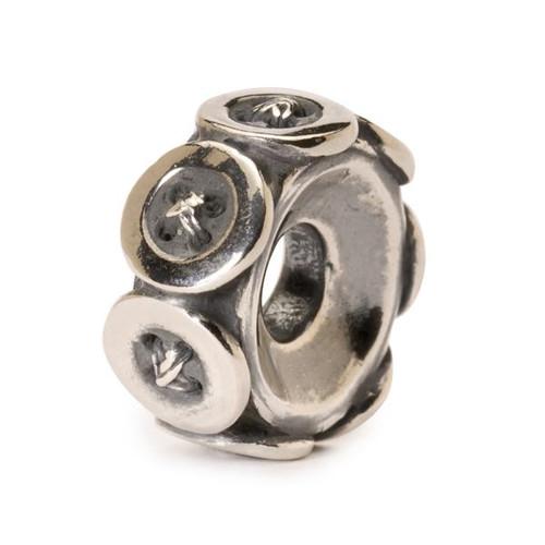 Trollbead Silver Charm Buttons 11441