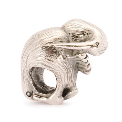 Trollbeads Silver Charm Kiwi Bird 11451