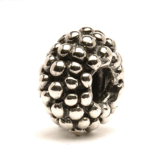 Trollbeads Silver Charm Large Berry