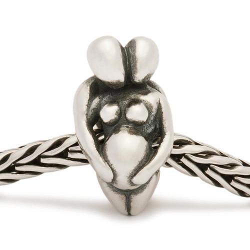 Trollbeads Silver Charm Expectation on Troll Bracelet