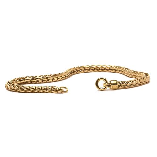 Trollbeads Bracelet 14 Carat Gold