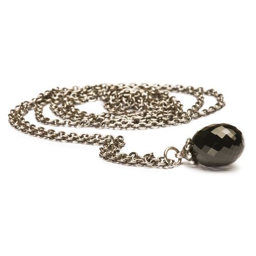 Trollbeads Fantasy Necklace Silver with Black Onyx