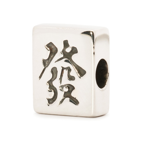 Trollbeads Silver Charm, Mahjong Fortune, World Tour Hong Kong, TrollbeadsAkron.com