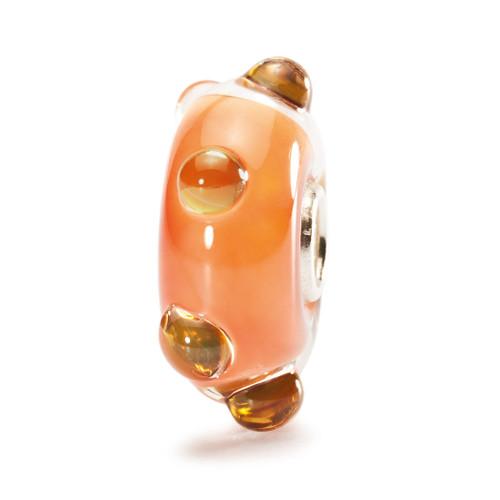 Trollbeads Glass Bead Coral Opal