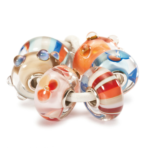 Trollbeads Glass Beads Happy Summer Kit