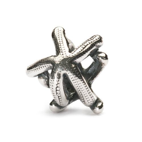 Trollbeads Sterling Silver Charm, Starfish Bead, New Troll Beads Spring 2013, TrollbeadsAkron.com
