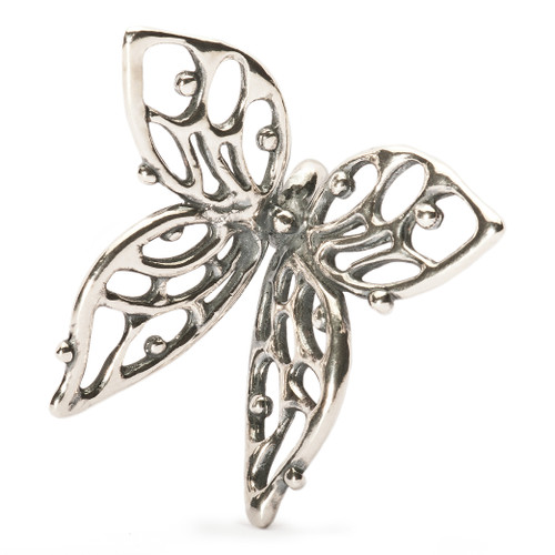 Trollbeads Silver Charm, Big Butterfly, Troll Beads Spring 2013, TrollbeadsAkron.com