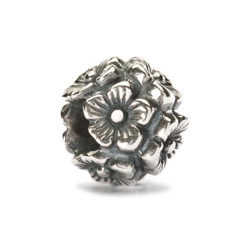 Trollbeads Silver Charm Elderflowers