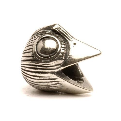 Trollbeads Silver Charm Bird, Big