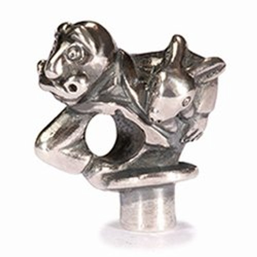 Trollbeads Silver Charm Magician