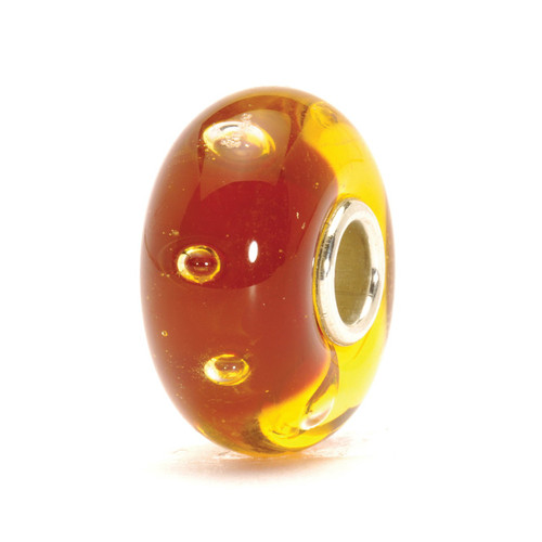 Trollbeads Red Bubbles Glass Bead