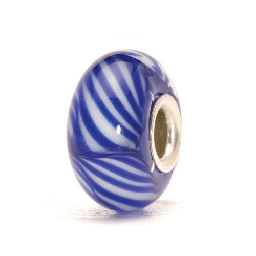 Trollbeads Glass Bead Arctic Stripe