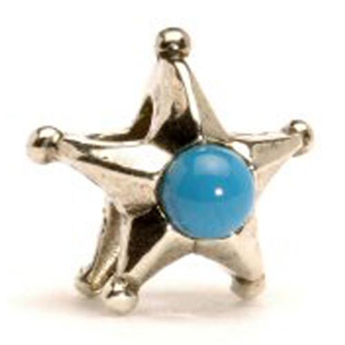 Trollbeads Silver Charms Retired Zodiac Aquarius