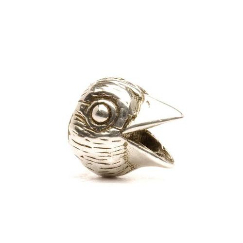Trollbeads Silver Charm Bird