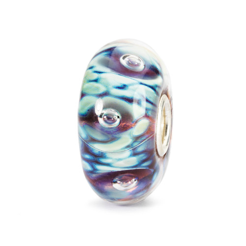 Trollbeads Glass Beads Moonlight Bubbles