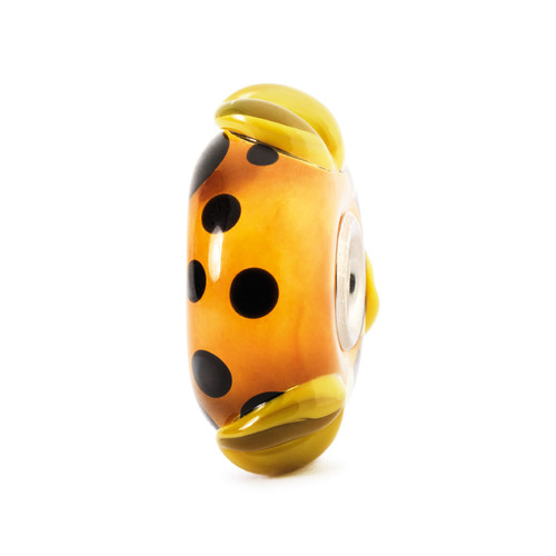 Trollbeads Glass Beads Orange Pod