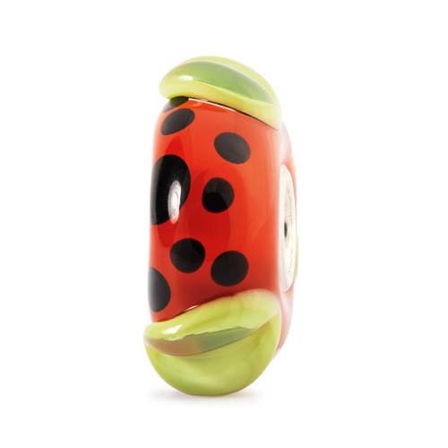 Trollbeads Glass Beads Red Pod