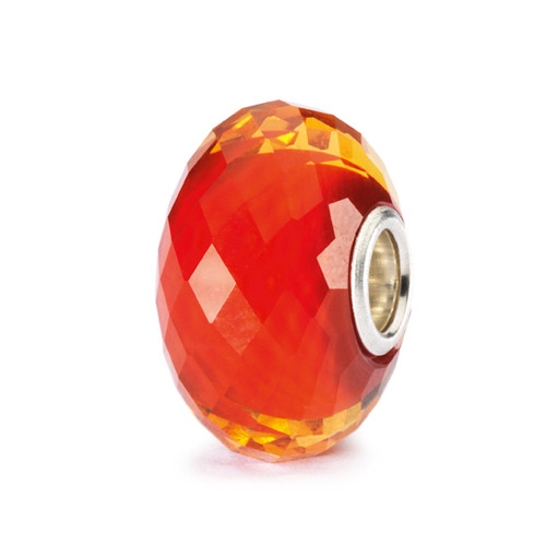 Trollbeads Glass Beads Saffron Facet