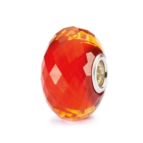 Trollbeads Glass Beads Saffron Facet